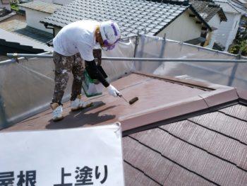 徳島市 屋根塗装 住宅