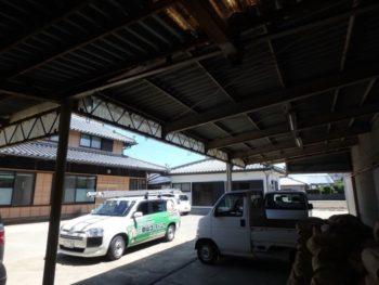 アスベスト屋根の塗装材料