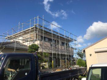 小松島市で屋根の交換です