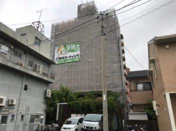 徳島市でマンション塗装をしています