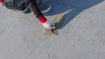 阿波市で防水工事を行っております。