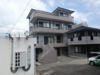 徳島県 阿南市 三階建て住宅 塗装