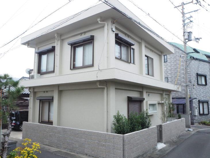 徳島 塀新設 塗装