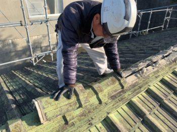 屋根の葺き替え 徳島県徳島市