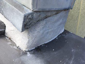 屋根 漆喰補修 屋根