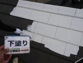 吉野川市 屋根塗装 山川町