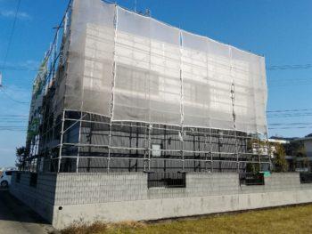 阿南市 外壁塗装 防水工事 K様邸