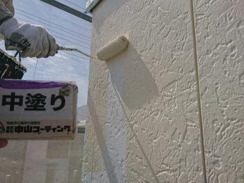 山川町 塗装 外壁 塗りかえ