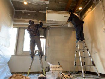 徳島市にて室内塗装です