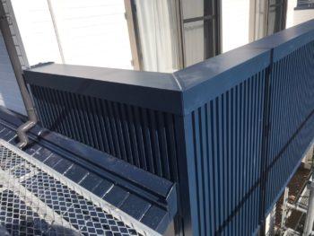 外壁 バルコニー 張替え 阿南市 ガルバリウム鋼板