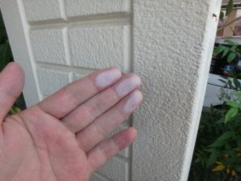 チョーキング 塗装 外壁 阿南市