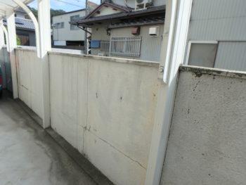 徳島市 塀 塗装