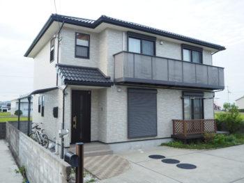 徳島市 外壁透明(クリヤー)塗装 施工事例