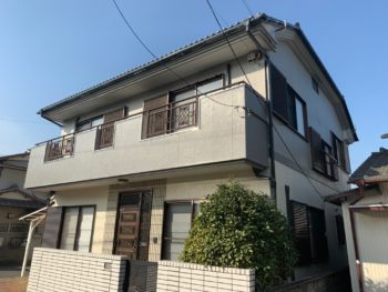 徳島市 ラジカルシリコン塗料 壁屋根