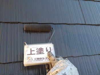 とくしま 屋根 塗装 上塗り カラーベスト