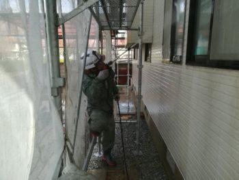 徳島市 外壁 チョーキング 洗浄