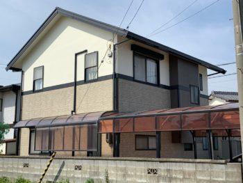 徳島市 住宅 完工 塗装工事 写真