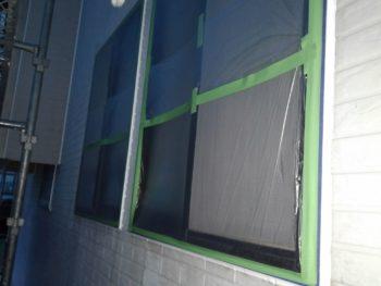 とくしま 窓 養生 塗装