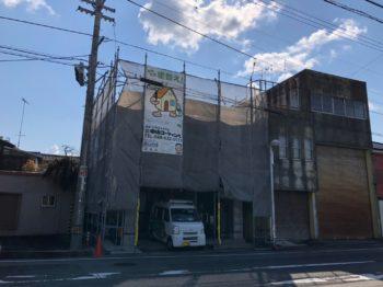 阿南市 外壁ダイヤカレイド・屋根塗装 エバーアートボード張り