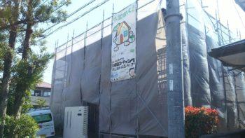 徳島市 外壁/多彩模様塗装 屋根カラーベスト塗装