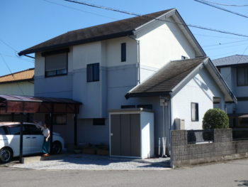 徳島市 板野郡 住宅 塗装