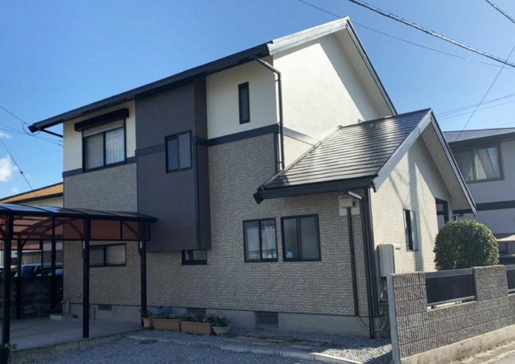 徳島県 完工 塗装 住宅 板野