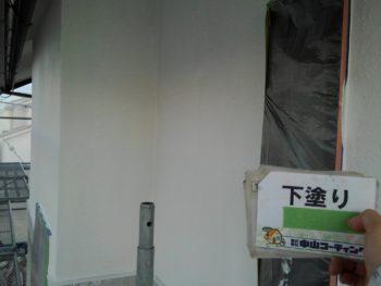 徳島 塗装 窓 下塗り 塗布