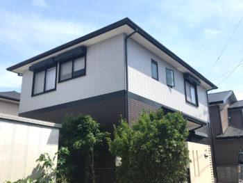 徳島市住友林業|外壁塗装はダイヤカレイド粒々クリヤーで高耐久