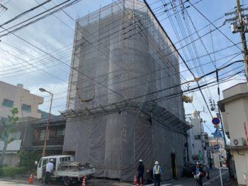 徳島市 ビル アパートマン 塗装 中山コーティング