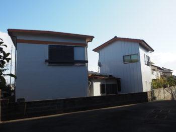 徳島市 住宅塗装 新浜町 施工後