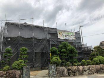 吉野川市 鴨島町 外壁塗装です