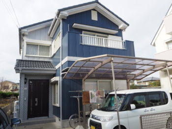 徳島|雨漏り|二色|タイル|デザイン塗装|屋根外壁