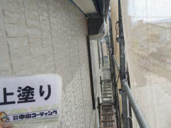 徳島県 南昭和 外壁 塗装 上塗り
