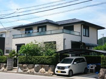 徳島市ダイワハウス 外壁塗装や屋根も塗り替えました