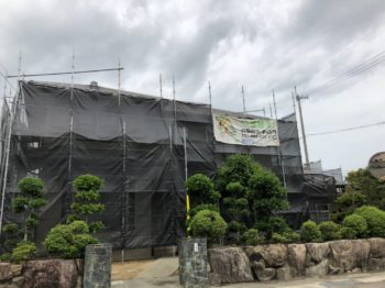 外壁塗装 吉野川市鴨島町で塗り替え