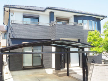徳島市セキスイハウスにお住まいで塗装工事後のお声