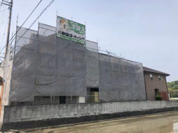 外壁塗装 名西郡石井町で行っています。