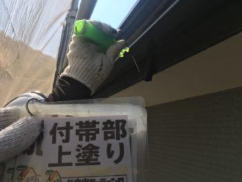 徳島県 塗装 破風 上塗り 細部塗装
