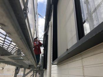 外壁 高圧洗浄 徳島県 八万町 住宅