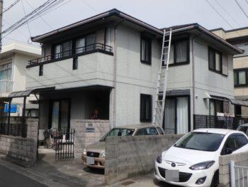 施工前 徳島 中昭和 住宅 塗装