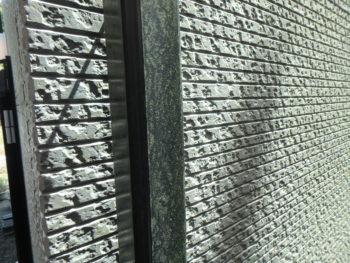 徳島県 施工前 外壁 塗装 藻