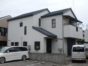 八万町 正面 徳島県 住宅 塗装