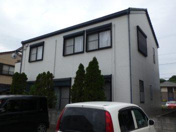 住宅 塗装 八万町 裏面 徳島県