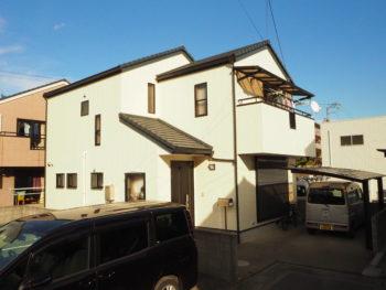 徳島市八万町 屋根外壁塗装 施工事例