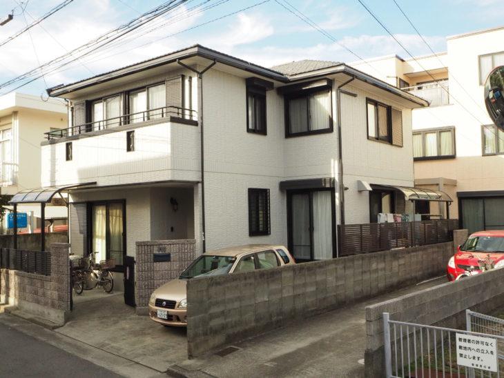 完工 正面 徳島県 中昭和 住宅
