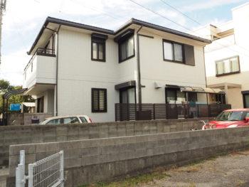徳島県 背面 住宅 中昭和 完工