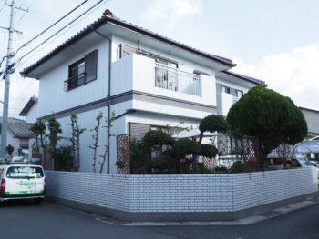 外壁カバー工法 金属サイディング徳島県松茂町