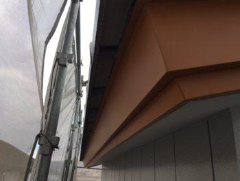 破風 鼻隠し カバー工法 徳島市 ガルバリウム鋼板