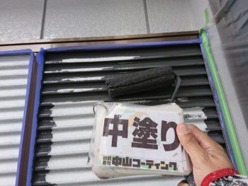 塗装 徳島 中山 雨戸