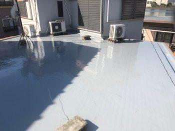 ウレタン防水 プロ 徳島市 塗装